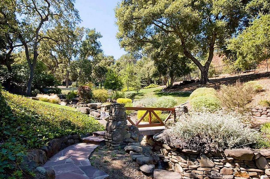 Expansive garden laced with stone pathways and lovely bridges [From: Mark Pinkerton – vi360 photography]