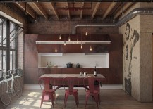 Fascinating-use-of-color-and-texture-in-the-striped-down-industrial-kitchen-217x155
