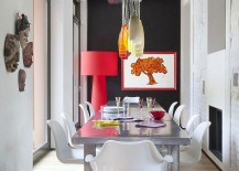 Formal-dining-area-gets-a-colorful-fun-twist-inside-this-eclectic-Italian-home-217x155