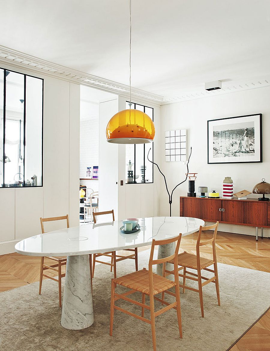Merveilleux View In Gallery Formal Dining Room With A Smashing Marble Dining Table