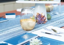 Fourth of July table setting idea from Lovely Indeed 217x155 Modern Summer Entertaining Ideas