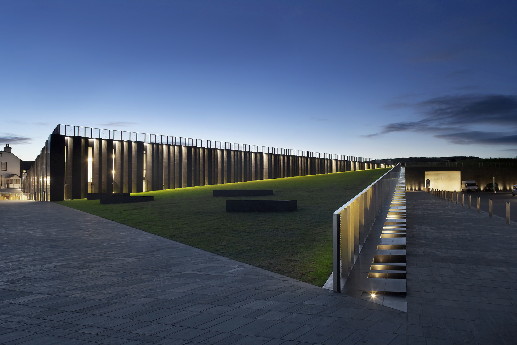 Exquisite form of The Giant's Causeway Visitor Centre