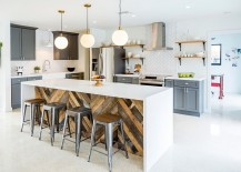 Give your industrial kitchen a softer, modern appeal