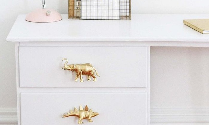 8 DIY Ideas for Inexpensive Drawer Pulls You Can Make Yourself