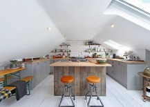 Gorgeous-loft-kitchen-with-industrial-style-and-a-large-skylight-217x155