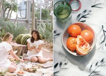 Greenhouse picnic from Design Love Fest