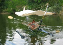 Combine your love for water with the hammock