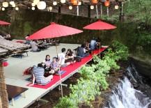 Hirobun Restaurant Kawadoko Dining Kyoto Kibune 217x155 Dine Atop a Waterfall at These Kawadoko Restaurants Hidden in Kyotos Mountains
