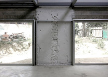 Concrete used in Home renovation by Toulouse architects BAST