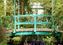 Iconic bridge in the Monet's Garden is a showstopper!