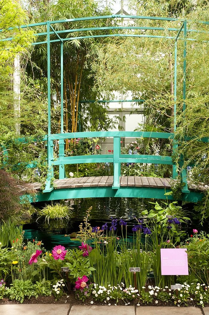 Iconic bridge in the Monet's Garden is a showstopper! [Design: The New York Botanical Garden]