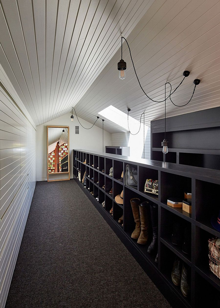 Ingenious organizational idea for the small modern home