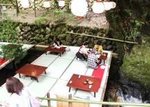 Kawadoko Dining in Kibune