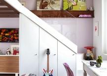 Kids' bedroom design with plenty of color