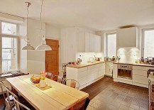 Kitchen-and-dining-space-in-white-with-Scandinavian-style-217x155