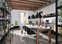 Kitchen-and-dining-space-neatly-rolled-into-one-217x155