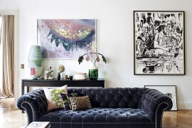 Decorating Parisian Style: Chic Modern Apartment by Sandra Benhamou