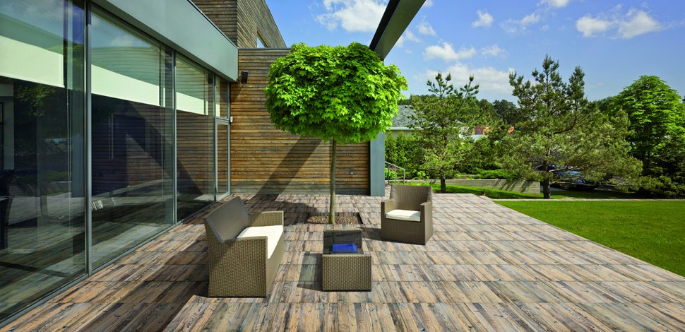 Larix outdoor ceramic tiles