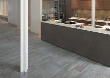 Larix wood looking ceramic tiles