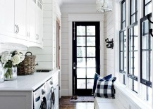 Unique Painting Ideas Featuring Black Trim - Black trim painting ideas