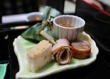 Little treats for lunch at Hirobun restaurant