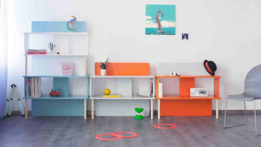 MDF storage units from Formabilio