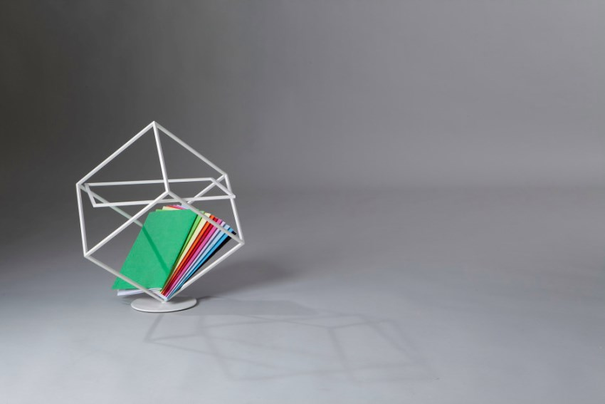 Magazine rack by Marco Ripa