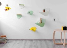 Metal wall shelves from Formabilio