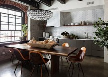 Modern-chandelier-brings-glam-to-the-industrial-setting-217x155