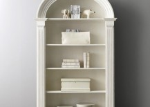 Neoclassic bookcase from Restoration Hardware