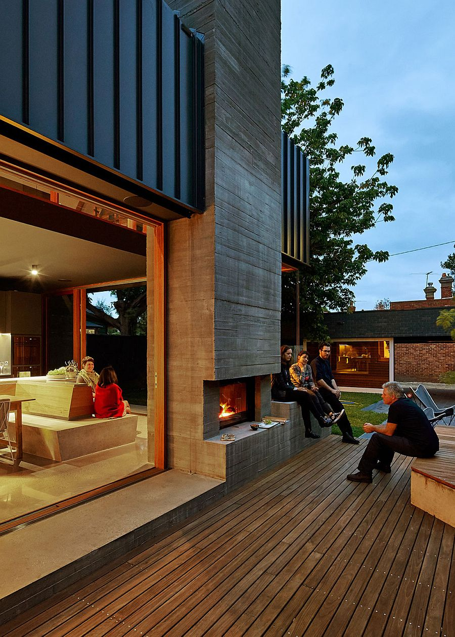 Outdoor spaces seamlessly connected with the interior in this cool Melbourne home