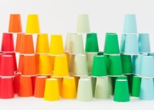 Party cups from the Oh Happy Day Shop 217x155 Chic Party Themes Replace Matchy Matchy Supplies