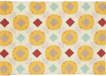 Patterned rug from CB2