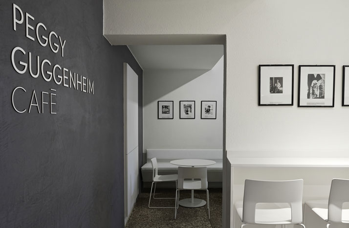 view in gallery - Gray Cafe Interior