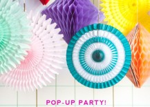 Pop up party supplies from the Oh Happy Day shop 217x155 Chic Party Themes Replace Matchy Matchy Supplies