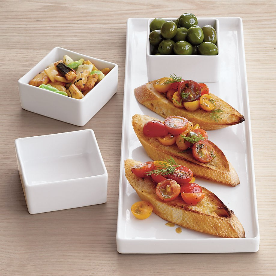 Rectangular platter from CB2