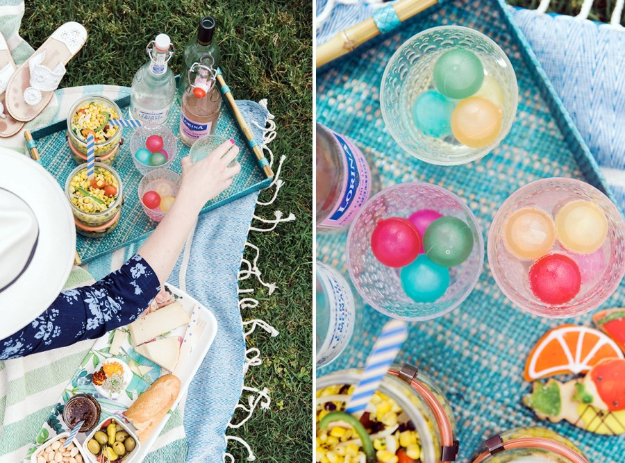 Refreshing picnic palette from Style Me Pretty