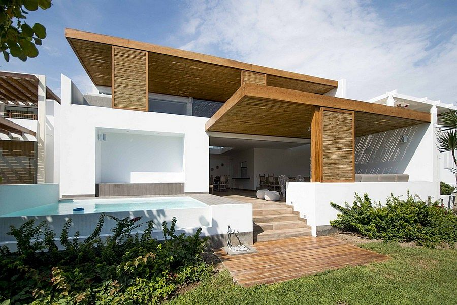 Relaxing contemporary home in Peru The Panda House: Contemporary House in Peru Showcases a Breezy Beach Vibe!
