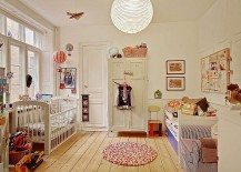 Scandinavian nursery design with a relaxing vibe