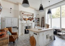 Shabby-chic-kitchen-with-smart-tile-flooring-and-industrial-style-lighting-217x155