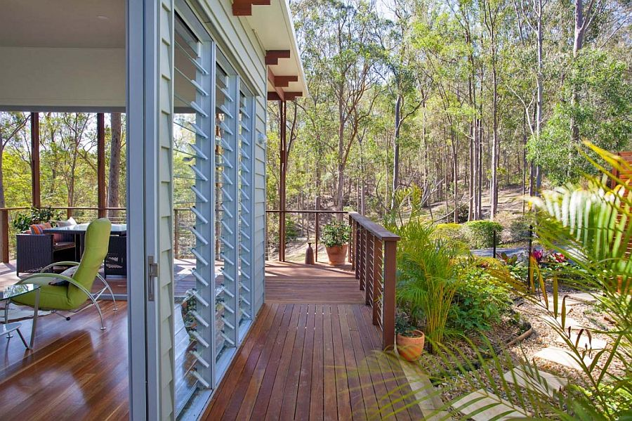 View in gallery Simple and elegant design of the one bedroom home in  Brisbane. Affordable and Stylish Second Dwelling  One Bedroom Home in Brisbane