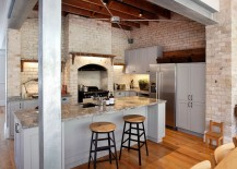 Simplicity holds sway in this industrial kitchen [Design: White Door Design]