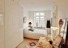 Small bedroom design idea with Scandinavian style