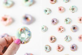 Small candy donuts from Paper & Stitch  Summer Party Ideas for a Festive Season Small candy donuts from Paper Stitch