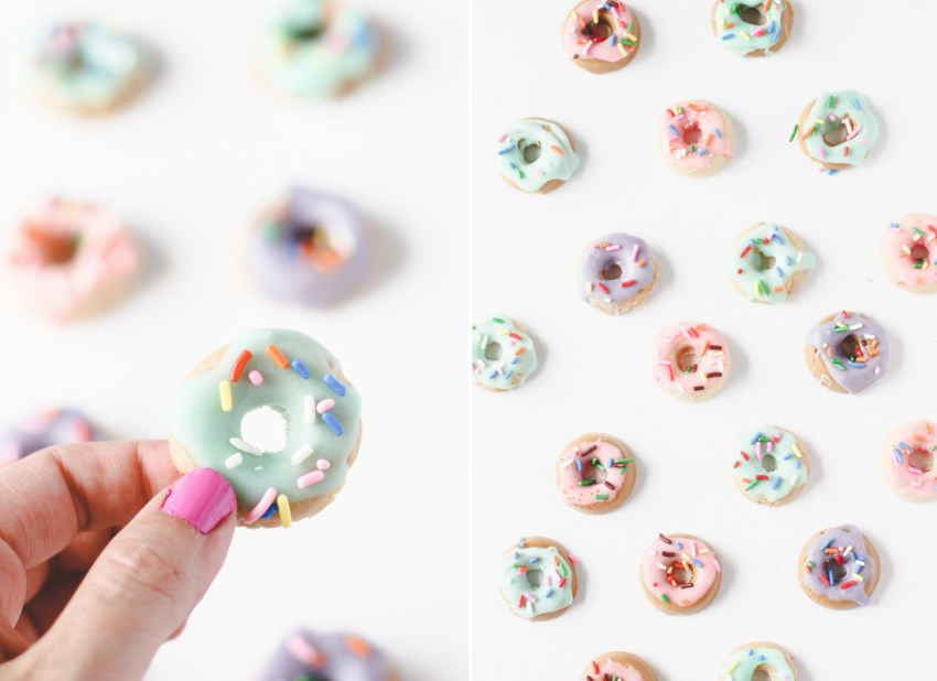 Small candy donuts from Paper & Stitch