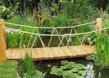 50 Dreamy and Delightful Garden Bridge Ideas