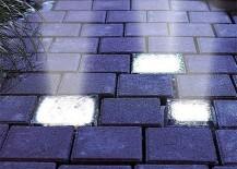 Solar Powered Paver Bricks Embedded