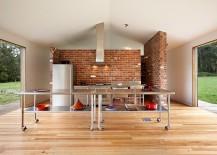 Sparkling island on wheels for the ingenious kitchen [Design: Maxa Design]