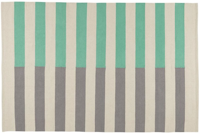 Striped rug from The Land of Nod