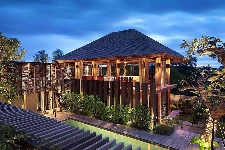 Exotic luxury villa pecatu bali by wahana cipta selaras Bali house designs floor plans
